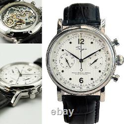 SUGESS Chrono Heritage Chronograph Mechanical Watch SEAGULL 1963 SU1901SW