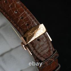 SUGESS SEAGULL ST8000 GENUINE Tourbillon Master Mechanical Mens Watch SU8000GB