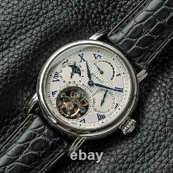 SUGESS SEAGULL ST8007 Seakors Tourbillon Mechanical Mens Wrist Watch SE8007SW