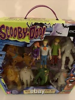 Scooby Doo Action Figure Friends & Foes 10 pack Collection Rare Vintage New Gift