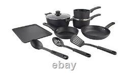 Scoville Pure Neverstick 9 Piece Cookware Pan Pot Set Christmas Wedding Gift