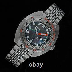 Seestern 42MM SUB 300T MOP DIAL x LUME DATE 20ATM Bezel 200m DIVER'S Watch DOX02