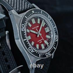 Seestern 62MAS 20ATM Genuine Ceramic Bezel 200m DIVER'S Watch SE2021-D62S-RK