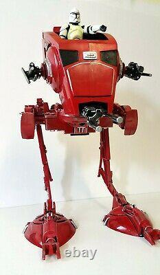Star Wars Black Series AT-ST SCOUT WALKER & DRIVER. Mandalorian Christmas gift
