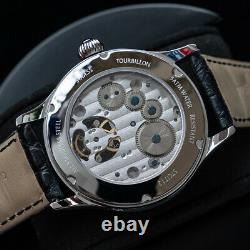 Sugess 2021 Tourbillon Master Seagull ST8004 Mechanical Mens Watch SU8004SK