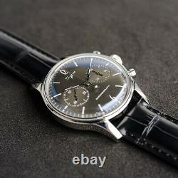 Sugess 40MM Convex Mineral Glass Chronograph Watch Seagull 1963 SU1901F003GN/SN