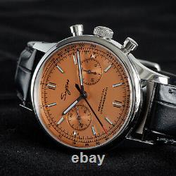 Sugess Chrono Premier SWAN NECK Chrono Mechanical Watch SEAGULL 1963 SUCHP001K
