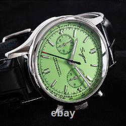 Sugess Chrono Premier SWAN NECK Chrono Mechanical Watch SEAGULL 1963 SUCHP002K