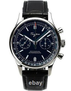 Sugess Chrono Premier SWAN NECK Chrono Mechanical Watch SEAGULL 1963 SUCHP003K