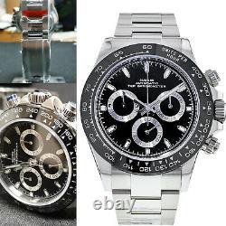 Sugess Chronometer Daytona Ceramic Bezel 7750 Panda Chronograph Watch SU002DAY