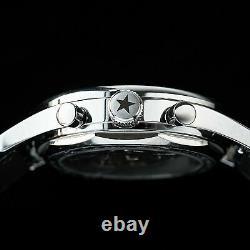 Sugess GOLD SWAN NECK FIVE STAR Panda Mechanical Watch Seagull 1963 SUPANK042SN