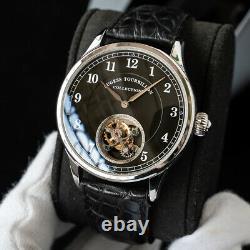 Sugess Genuine Automatic Tourbillon Master Seagull ST8002 Mens Watch SU8002SB