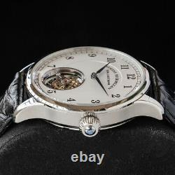 Sugess Genuine Automatic Tourbillon Master Seagull ST8002 Mens Watch SU8002SW