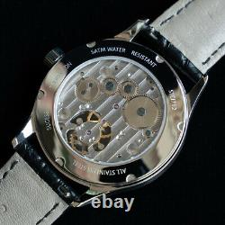 Sugess Genuine Tourbillon Master Seagull ST8000 Mechanical Mens Watch SU8000ISW
