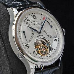 Sugess Genuine Tourbillon Master Seagull ST8004 Mechanical Mens Watch SU8004SBE