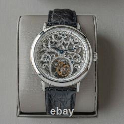 Sugess Genuine Tourbillon Seagull ST8000K Mechanical Skeleton Watch SU8000KS3