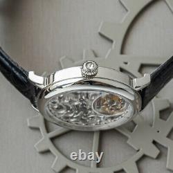 Sugess Genuine Tourbillon Skeleton Seagull ST8000K Mechanical Watch SU8000KS3