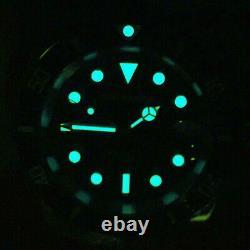 Sugess ISO-6425 Genuine Ceramic Bezel x 316L steel 200m DIVER'S Watch SG116610LN