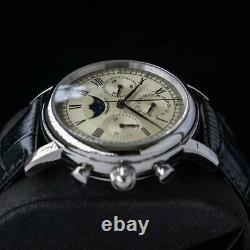 Sugess M199S 29 1/2 Day MoonPhase Chronograph Mechanical Watch Seagull 1963