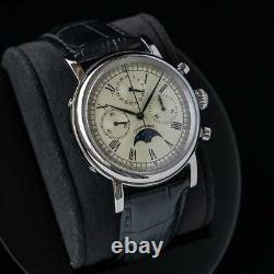 Sugess MoonPhase Master Chronograph Mechanical Watch Seagull 1963 M199S/X