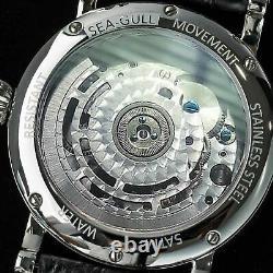 Sugess Seakors Automatic Tourbillon Seagull ST8004ZS Mechanical Watch SE8004SBEX