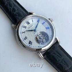 Sugess Seakors Genuine Tourbillon Seagull ST8000 Mechanical Mens Watch Blue