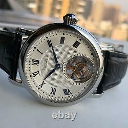 Sugess Seakors Genuine Tourbillon Seagull ST8000 Mechanical Mens Watch SE8000SK