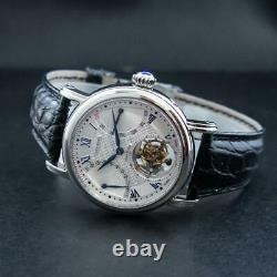 Sugess Seakors Genuine Tourbillon Seagull ST8004 Mechanical Mens Watch SE8004SBE