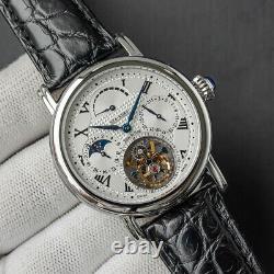 Sugess Seakors Genuine Tourbillon Seagull ST8007 Mechanical Mens Watch SE8007SK