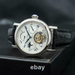 Sugess Seakors Genuine Tourbillon Seagull ST8007 Movement Mechanical Mens Watch