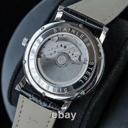 Sugess Slim Master 8mm thin Automatic Mechanical LUXURY Mens Watch SU9015SW