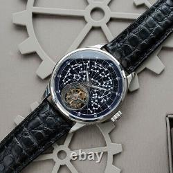 Sugess Tourbillon Constellation Dial Seagull ST8230 Mechanical Watch SU8230STRB