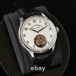 Sugess Tourbillon Master Blue steel Hands Seagull ST8000 Mechanical Mens Watch
