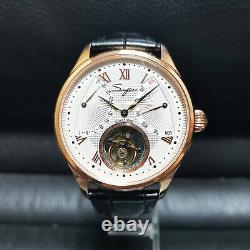 Sugess Tourbillon Master Day Date Seagull ST8004 Mechanical Watch SU8004GW2