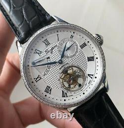 Sugess Tourbillon Master Power Reserve Seagull ST8001 Mechanical Watch SU8001SWD