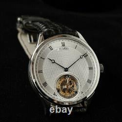 Sugess Tourbillon Paris nail Microhyla Dial Seagull ST8230 Mechanical Watch