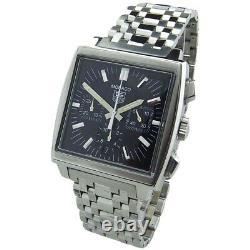 TAG Heuer Monaco BRACELET Men's Wrist Watch GREAT CHRISTMAS Gift