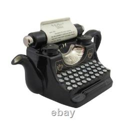 Typewriter Teapot Carters of Suffolk Birthday Christmas Gift Ideas