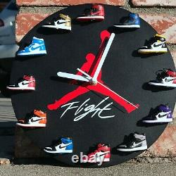 Ultimate Sneakerhead Gifts 3D mini Sneakers Clock USA Sellers Best Holiday Gifts