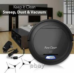 Vacuum Cleaner Robotic Auto For Carpet Hardwood Floor Pet Hair Allergy Friendly