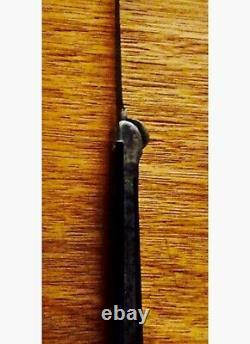 Vintage 1902 Novelty Drop Point Hunter Knife. Price Slashed For Christmas Gift