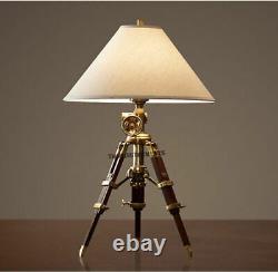 Vintage Lighting Industrial Heavy Table Lamp Restoration Antique Christmas gift