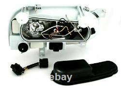 Vw Golf Mk3 Black Headlights Headlamps 1991-1997 Christmas Gift