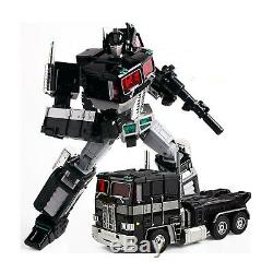 WEIJIANG Transformers Optimus Prime MPP10B MPP-10B Black Ver Gift X-mas Toys Boy
