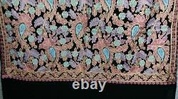 Women Kashmiri Shawl Pashmina Elegant Pure Cashmere Gift Floral Stole Scarf
