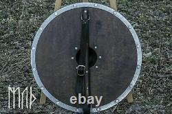 X-MAS gift Wood & Metal Medieval Knight Shield Handcrafted Viking Shield armor