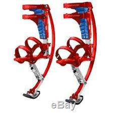 Xmas Gift Kangaroo Shoes Jump Stilts Spring Pogo Stilts Kid Junior 66-110lbs